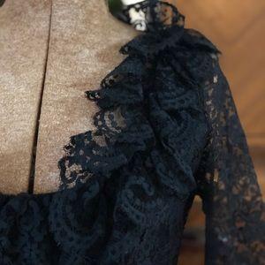 Vintage Oscar De La Renta Lace Dress